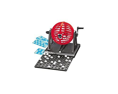 2Esse Gioco da Tavolo Bingo Lotto 90 Numeri 12 Cartelle Gira La Fortuna Tombola