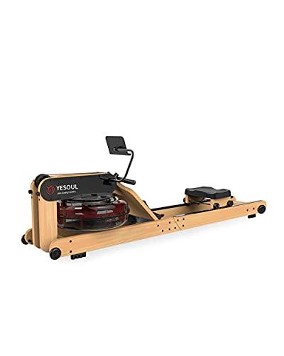 Máquina de Remo Plegable de Madera de Haya con Depósito de Agua de Tecnología de Moldeo de Precisión YESOUL R40S