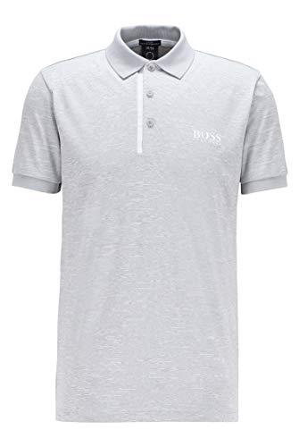 BOSS Herren Pauletech 1 Slim-Fit Poloshirt aus S.Café®-Gewebe
