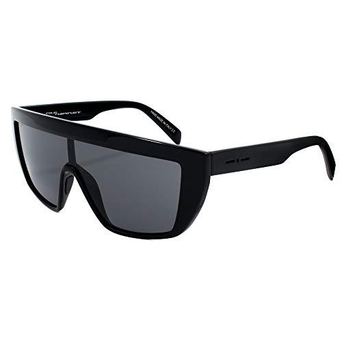 italia independent 0912-009-GLS Gafas de Sol, Negro, 122 para Hombre