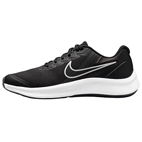 Nike Tenis para Correr Hombre Negro DA2776-003 Star Runner 3 Talla 25 CM...