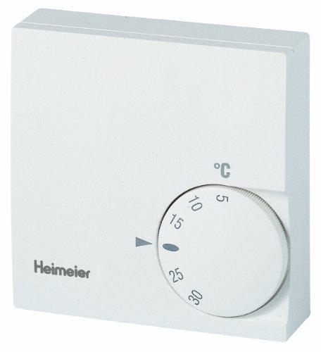 TA Heimeier 1936-00.500 Raum-Thermostat 5-30 Grad, ohne Temperaturabsenkung, 230 V