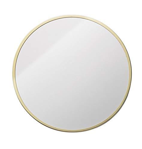 Miroir Accrochant Fixé Au Mur De Vanité De Miroir De Miroir De Salle De Bains De Miroir De Mur De Cadre En Métal Rond Et De Rasage (taille : 30cm)