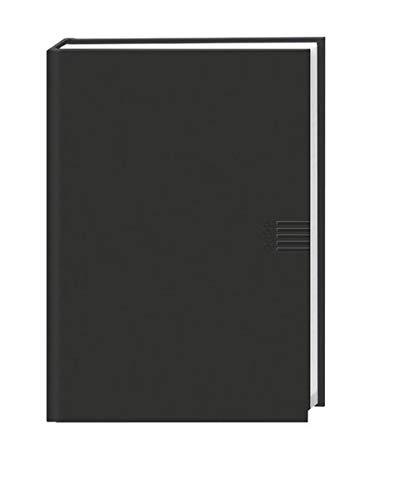 Wochen-Cheftimer A5 schwarz Terminkalender 2022 - 136 Seiten - wattierter Umschlag mit Lesebändchen, Eckperformation uvm - Kalenderbuch - Taschenkalender - 15,2 x 21,5 cm