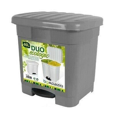 Papelera Reciclaje 2 Compartimentos Marca BG Spazio