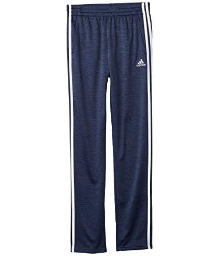 adidas Boys' Big Fleece Taper Pant, Indicator Collegiate Navy Heather, X-Large