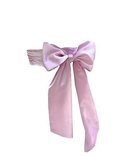 Eyrie Special Occasion Dress sash Bridal Belts Wedding sash 4'' Wide Double Side (Lavender)