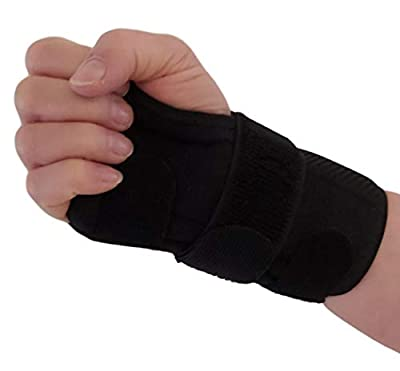 Carpal Tunnel Wrist Brace Night Support – Removable Wrist Splints Arm Stabilizer & Hand Brace for Carpal Tunnel Syndrome Pain Relief with Compression for Forearm or Wrist Tendonitis Pain (Right)