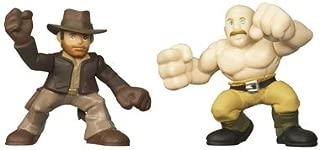Indiana Jones Adventure Heroes 2-1/2 Inch Tall Mini Action Figure - Indiana Jones vs German Mechanic from