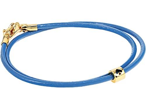 Kate Spade New York Wrapped Up Wrap Bracelet Blue One Size