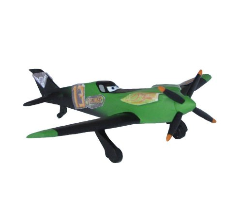 Bullyland- Walt Disney Planes-Aereo Ripslinger Figurina, Colore Verde, BU12925