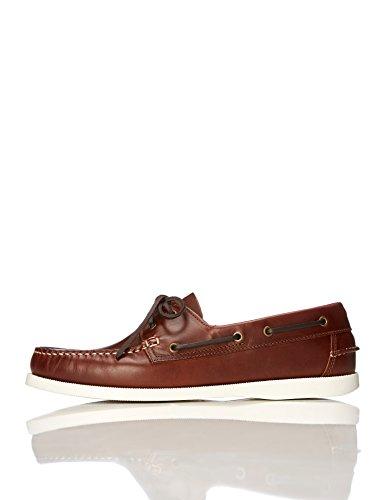 find. Zapatos Náuticos Hombre, Marrón (Cognac), 42 EU