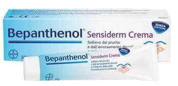 Bepanthenol Sensiderm - Crema Anti Arrossamento e Prurito della Pelle Senza Cortisone - 50 g