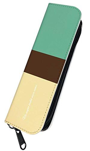 [PLOOMTECH JT-03S] プルームテック 電子タバコ ケース カバーA. ミント×ベージュ チョコミント シンプル オシャレ 大人