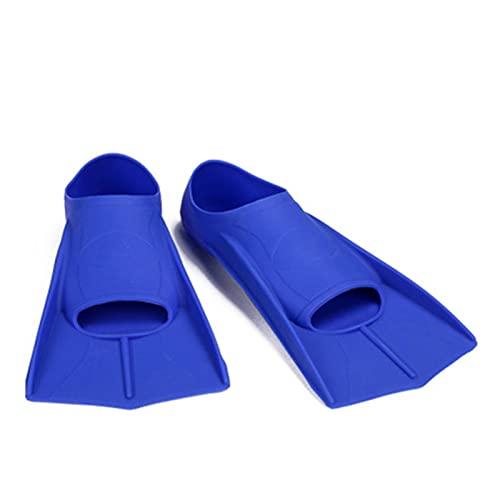Deporte acuático Profesional Silicone Snorkel Buceo Natación Menores Hombres Mujeres Entrenamiento Pippers Flexible Adulto Arqueamiento de Buceo Zapatos de natación para niños niñas Hombres Mujeres