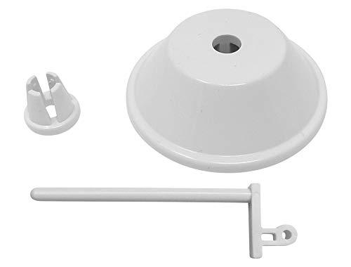 Z.Z.N. Soporte para bobinas de hilo + tope de hilo + disco de drenaje para Singer 1105/1107/1116/1120/1130/1507