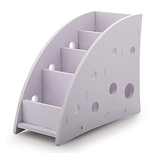 JYDQM Teléfono Control Remoto Organizador Maquillaje Almacenamiento Titular Flexible Box Caja de Almacenamiento Home Desk Organizer