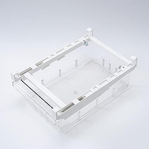 PANCHEN 1/4/8 Grids Kühlschrank Transparente Aufbewahrungsbox Küche Kühlschrank Container Bin Schublade Gefrierschrank Pantry Pull-Out-Aufbewahrungsbehälter (Color : A)