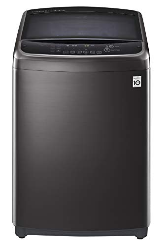 LG 11.0 Kg Inverter Wi-Fi Fully-Automatic Top Loading Washing Machine (THD11STB, Black Stainless Steel)