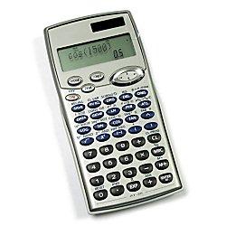 AtivaTM AT-36 Scientific Calculator, Dual Powered, (Silver)