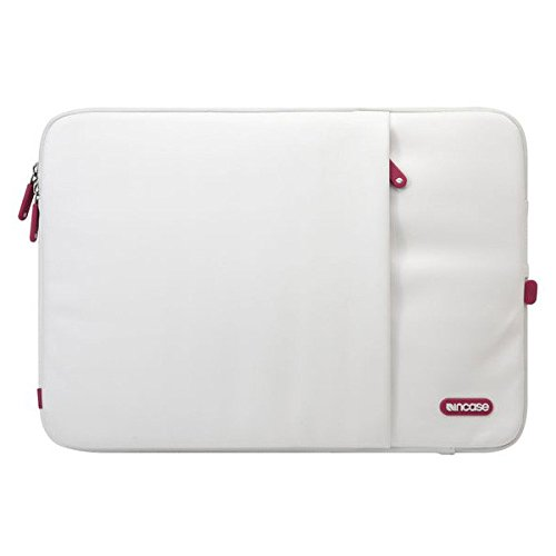 Incase Protective Sleeve Deluxe Laptop Case For 15' MacBook Pro - White/Cranberry