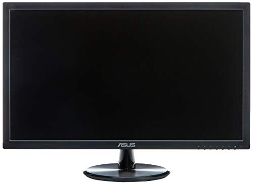 ASUS VP248H Pantalla para PC 61 cm (24') Full HD LED Plana Negro - Monitor (61 cm (24'), 1920 x 1080 Pixeles, Full HD, LED, 1 ms, Negro)
