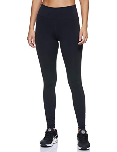 Nike Damen One Tights, Black/White, M