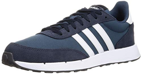 adidas Herren Run 60s 2.0 Road Running Shoe, Crew Navy/Cloud White/Legend Ink, 44 EU