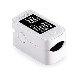 powerful Pulse Oximeter Fingertips – Spoo2 Monitor (Adult Oxygen Saturation) – Fingertips…