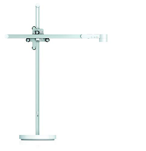 Lightcycle Schreibtischleuchte (Weiß/Silber)
