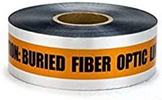409 CAUTION BURIED FIBER OPTIC LINE BELOW (Orange) 6