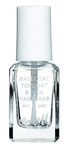 Barry M Nail Paint, 54 , 3 In 1 Base Coat, Top Coat, Nail Hardener All in One, Clear