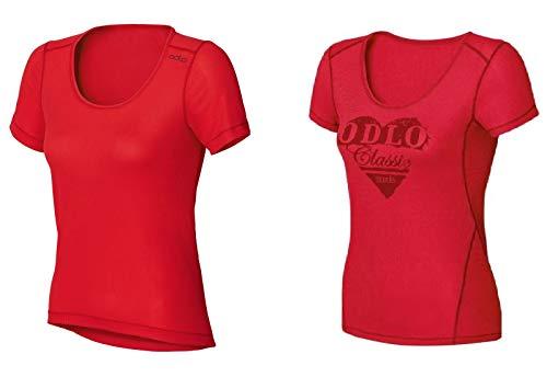 Odlo Doppelpack Sportwäsche 2 Shirts Cubic Light 140811 Damen Größe S