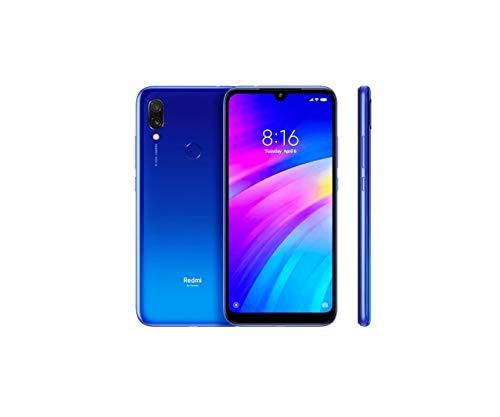 Xiaomi Redmi 7 64GB + 3GB RAM 6.26' HD+ LTE Factory Unlocked GSM Smartphone (Global Version) (Comet Blue)