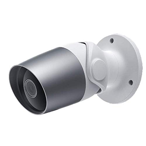 QinLL Outdoor Surveillance WiFi Camera, Beveiligingscamera 1080P Draadloze Waterdicht met Alexa,2 Way Audio,Night Vision,Motion Detection, WiFi IP Camera Bediende Smartphone App,bb
