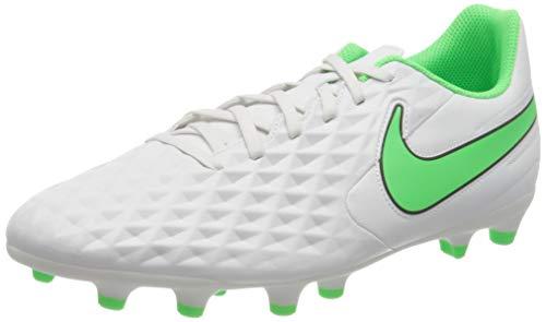Nike Legend 8 Club FG/MG, Scarpe da Calcio Unisex-Adulto, Platinum Tint/Rage Green-Black, 36 EU