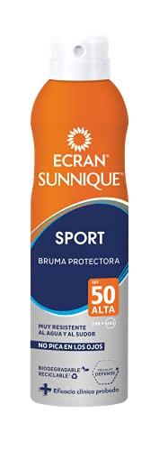 Ecran Sunnique SPORT, Bruma Solar para Deportistas con SPF50 - 250 ml
