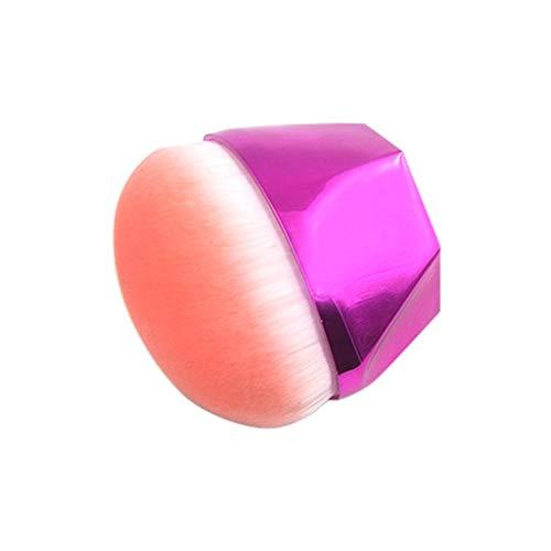 Brosse de maquillage, lingot de diamant simple exquis de mode Tonsee avec la poignée de diamant pour la brosse de base de poudre