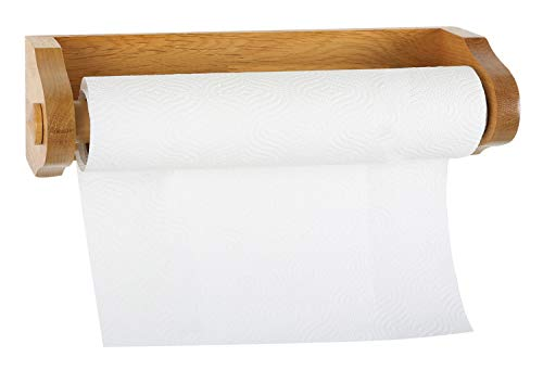 Design House 561233 Dalton Paper Towel Holder with Concealed Screws, Honey Oak, One Size