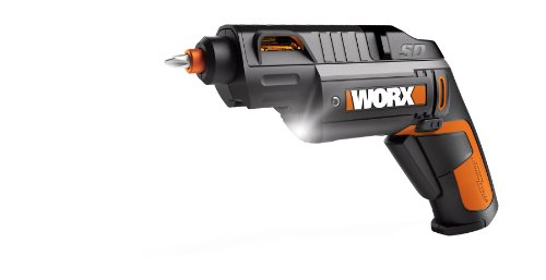 WORX WX254L SD Semi-Automatic Power Screw Driver with 12 Screw Driving Bits