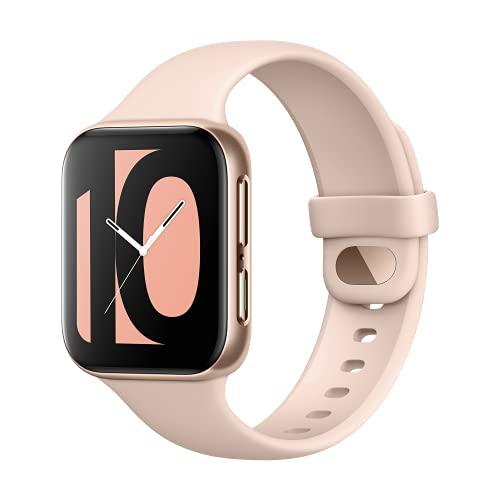 OPPO Smartwatch da 41 mm, Schermo AMOLED 1,6 , GPS, NFC, Bluetooth 4.2, 1GB+8GB, WiFi, Wear OS by Google, Funzione di Ricarica Rapida VOOC, Versione Italia, Colore Pink