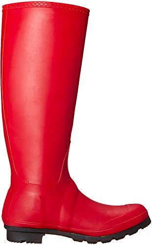 Kamik womens Jennifer Rain Boot Dark Red 7 M US
