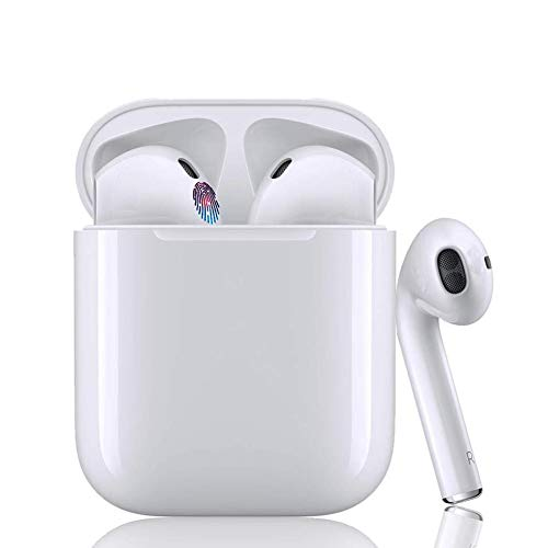 Auriculares Bluetooth Auriculares inalámbricos 5.0 Auriculares Bluetooth en Oreja Popup automático Auricular Estéreo inalámbrico en Oreja Manos Libres para Airpods/iPhone/Android/Samsung