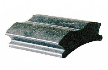 Bremsgummi Stempelbremse / Bremsbacke - für Kabel- und NSU-Bremsen, 44 mm lang, 28/33 mm breit
