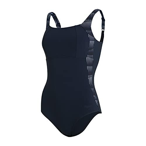Speedo - Bañador para Mujer con Estampado de lunalustre