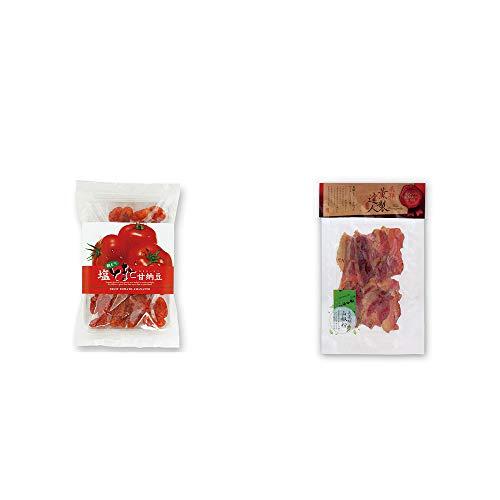 [2点セット] 朝どり 塩とまと甘納豆(150g)・薫製達人 豚バラベーコン燻製(60g)[飛騨山椒付き]