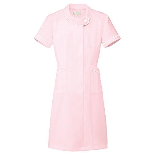 【Lumiere】ルミエール ナース 看護師用 女性用 白衣 診察衣 ワンピース (861110) ピンク 5L