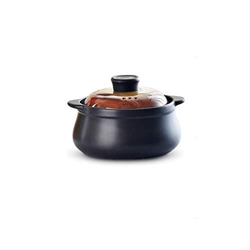 Gamvdout Cacerola de la Olla Casserole Sopa Pot Sopa De Cerámica Cerámica Poticie Hogar Potes Cocina Pot Pot Fuego Resistente al Calor Hotpot Olla de Sopa
