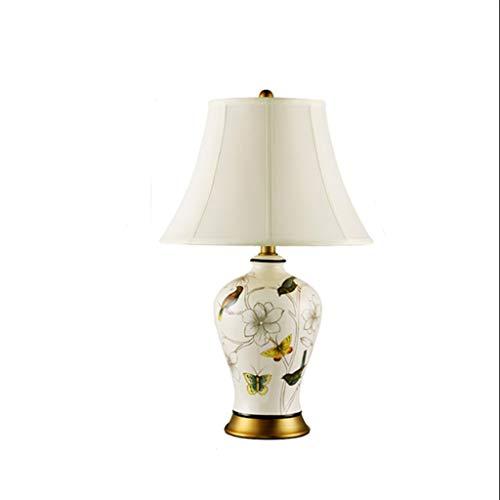 YWSZJ Tabla Floral de la lámpara LED, Base de latón, clásico, Tradicional, Habitación Sala Familiar