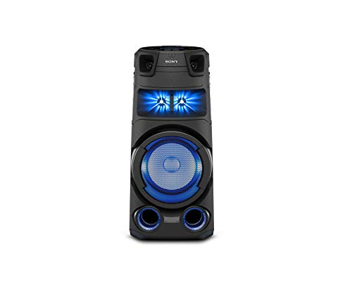 Sony MHC-V73D - Altavoz de Alta Potencia (High Power Bluetooth Party Speaker) con el Sonido y Luces de Fiesta omnidireccional